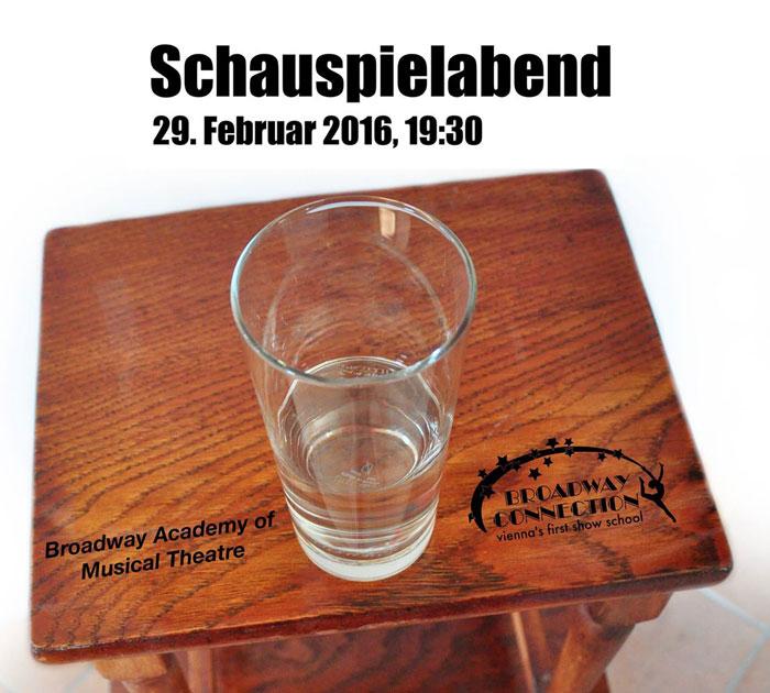 Schauspielabend im Schubert Theater am 29. Februar 2016